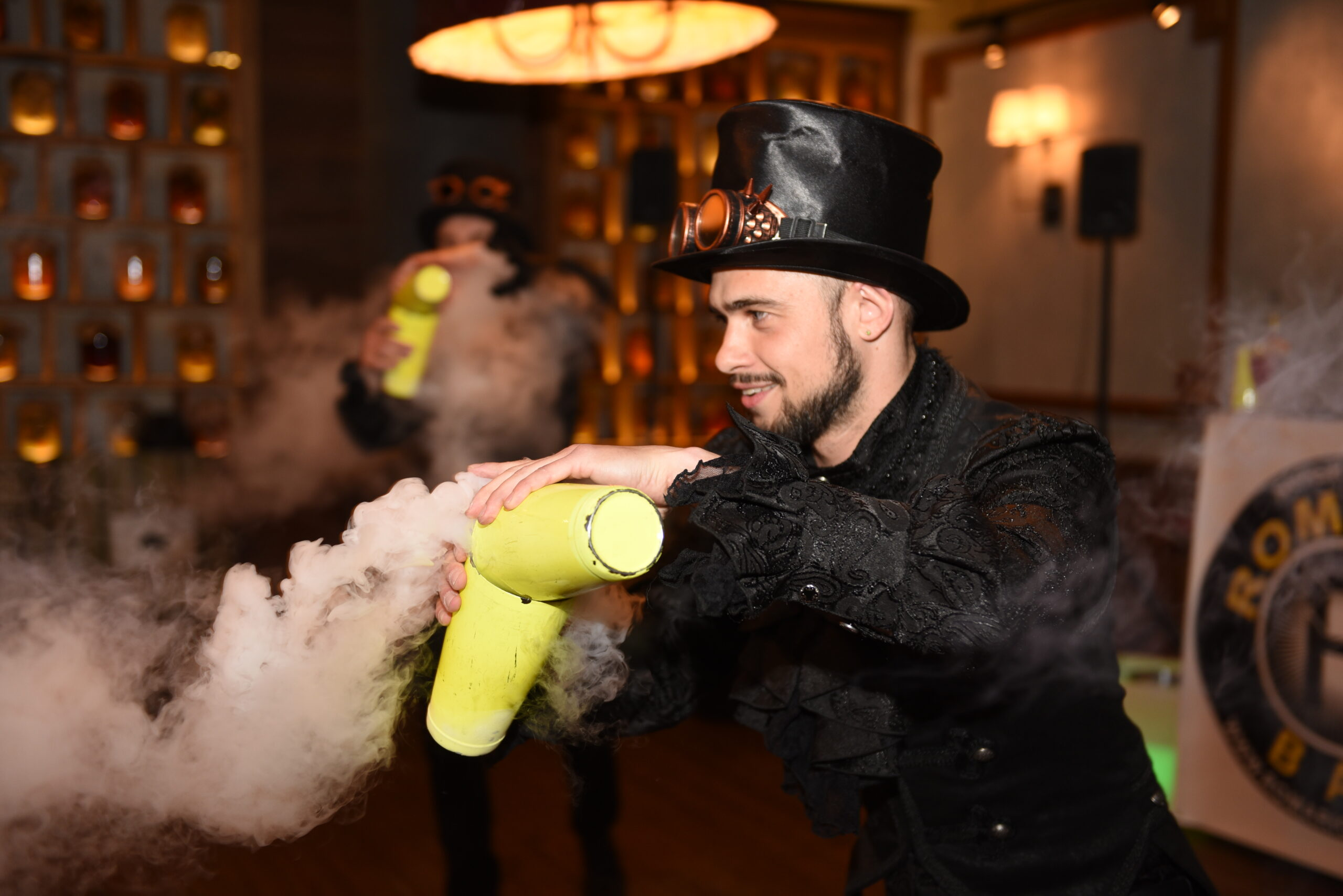 Бармен шоу в Киеве