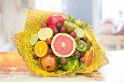 Мастер класс по созданию букетов из фруктов