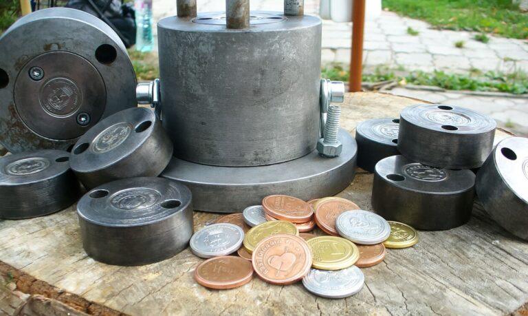Мастер класс по чеканке монет