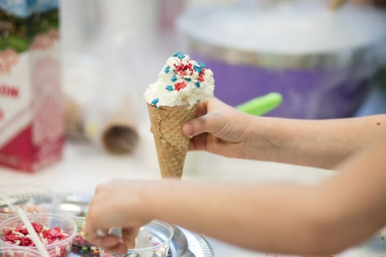 Мастер класс по крио-мороженому