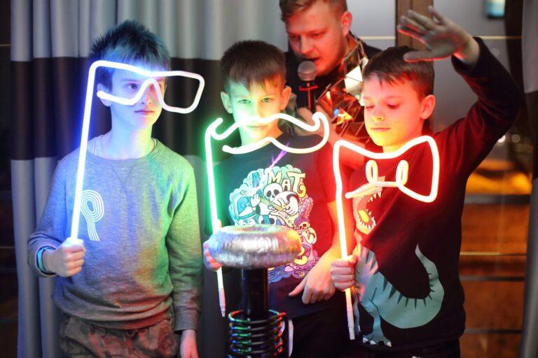 Тесла шоу на праздник в Киеве
