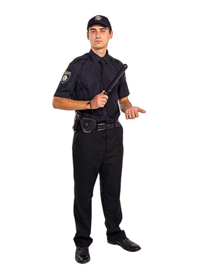 Аниматор полицейский