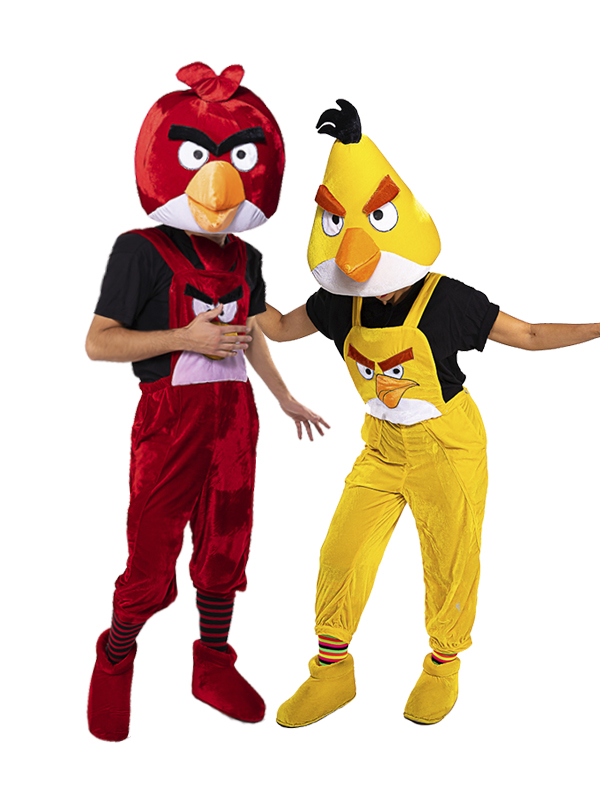 Аниматоры Злые птички