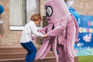 праздник в стиле подводный мир